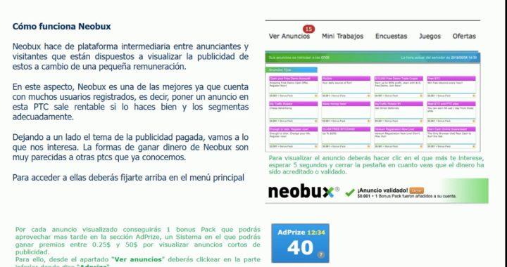 Ganar dinero en neobux