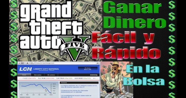 GTA 5 Como ganar dinero fácil y rápido en la bolsa bien explicado | Modo Historia