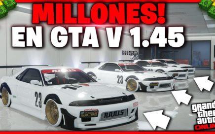 GTA 5 ONLINE - TRUCO DE DINERO - *SIN AYUDA* SIN INSTALACIONES - GTA V 1.45 (PS4 XBOX 1)