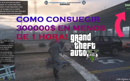 GTA 5 - SOLO MONEY GLITCH - GANA DINERO GAMEPLAY ESPAÑOL