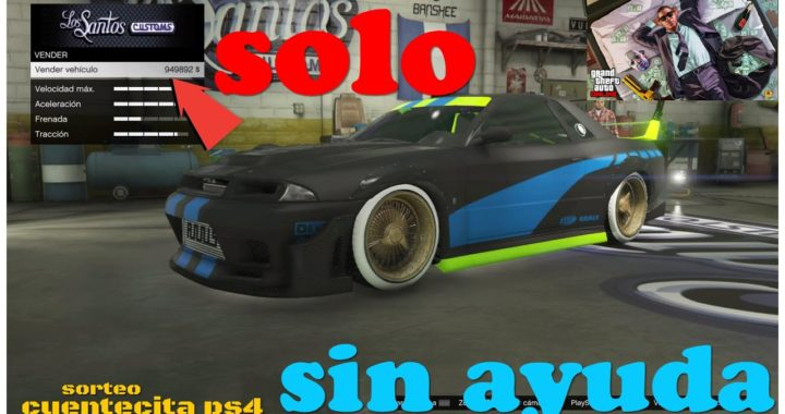"HAZTE RICO- SOLO MONEY GLITCH - COMO DUPLICAR - COCHES DE LUJO - GTA V -""COCHES GRATIS"" -(PS4 - XB1)"