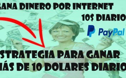 INCREÍBLE APP PARA GANAR 10 DÓLARES DIARIOS EN PAYPAL- Ganar dinero en PayPal Brutalmente 2018
