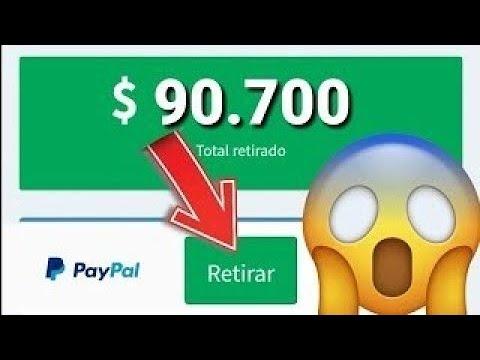 INCREÍBLE APP PARA GANAR 20 DÓLARES DIARIOS EN PAYPAL- Ganar dinero en PayPal Brutalmente 2018