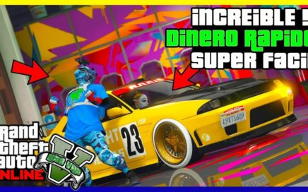 "INCREIBLE!! COMO GANAR $1.000.000 EN 2 MINUTOS ""GTA V ONLINE"" SUPER FACIL 1.45"