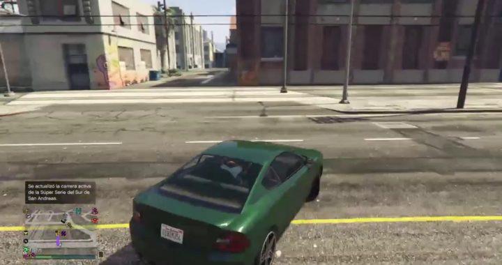 Jugando GTA 5 online intentando hacer trucos o maneras de ganar dinero