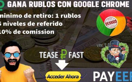 La Mejor Pagina Para Ganar Rublos GRATIS!!  // Como Ganar Dinero Por Internet 2018  - Tengo Dinero