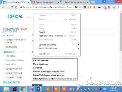Monetizar nuestra pagina web y gana dinero con CPX24 Ad Network