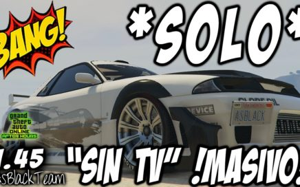 "*NEW* - SOLO MONEY GLITCH - SOLO SIN AYUDA - GTA V - DUPLICAR - ""SIN TV - SIN BUNKER"" - (PS4 - XB1)"