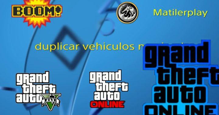 No funciona PARCHEADO *Solo sin ayuda!* duplicar vehiculos gta v online 1. 45