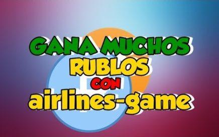 NUEVA PÁGINA Airlines-Game GANA RUBLOS
