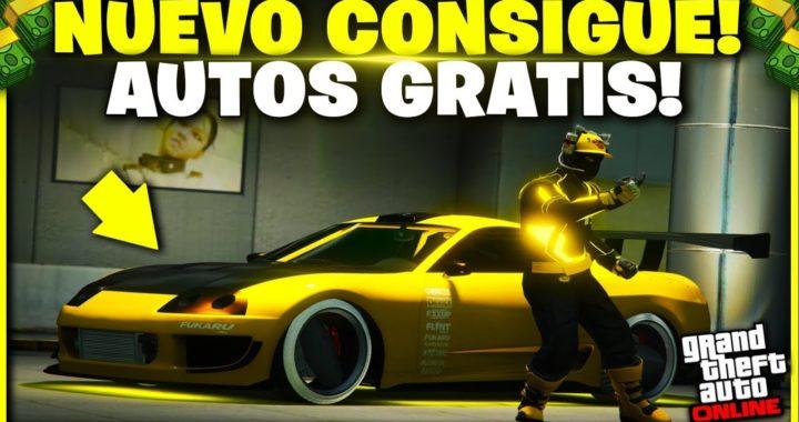 NUEVO! CONSIGUE AUTOS GRATIS EN GTA V - GTA 5 ONLINE 1.45 REGALAR AUTOS A AMIGOS!