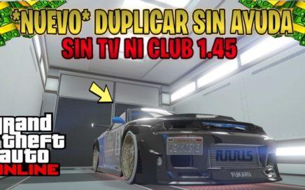 *NUEVO* DUPLICAR SOLO SIN AYUDA AUTOS DE LUJO [MUY FÁCIL] DINERO INFINITO GTA 5 ONLINE 1.45