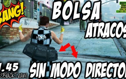 *NUEVO* - How To Get DUFFEL BAG - | BOLSA ATRACOS | - SIN MODO DIRECTOR - GTA V - SIN AYUDA