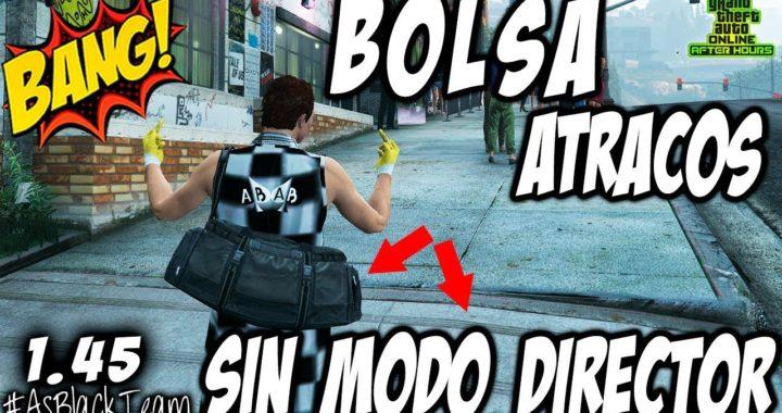 *NUEVO* - How To Get DUFFEL BAG - | BOLSA ATRACOS | - SIN MODO DIRECTOR - GTA V - SIN AYUDA