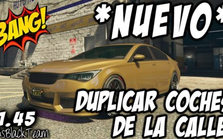 *NUEVO - NEW* - SUPERFÁCIL - DUPLICAR AUTOS TUNEADOS DE LA CALLE - GTA V - (PS4 - XBOX One - PC)