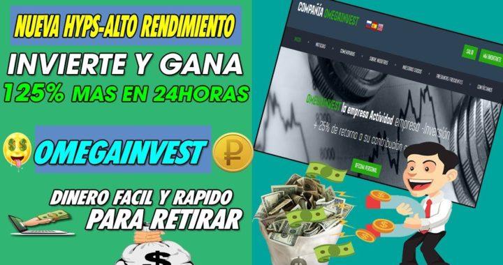 OMEGAINVEST-COMPANY|  LA HERMANA DE AURAINVEST | INVIERTE Y GANA 25% MAS EN 24HORAS