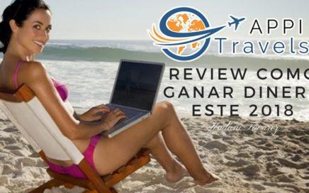Review Como Ganar Dinero por Internet con Appi Travels en Español 2018