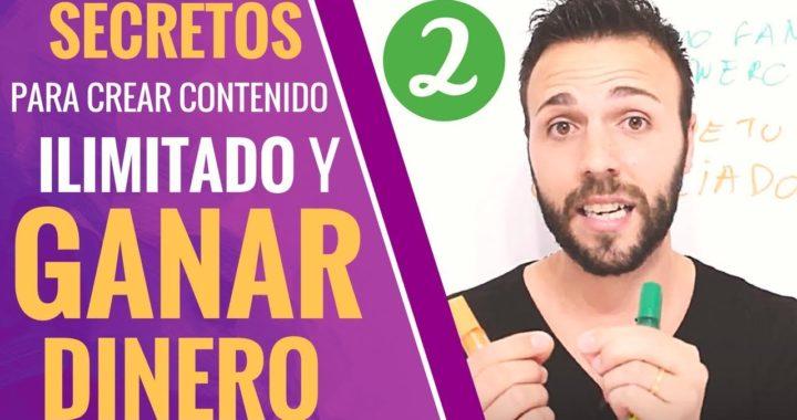 SECRETOS PARA CREAR CONTENIDO ILIMITADO Y GANAR DINERO (PARTE 2) | Alejandra y Toni |  Ed2 | V79