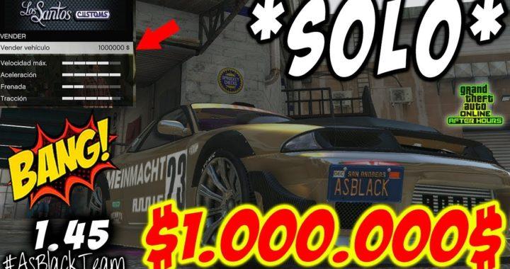"""*SOLO* - DUPLICAR COCHES SIN AYUDA - GTA V - TENER UN """"RETRO"""" de $1.000.000$ - !PARCHEADO!"""