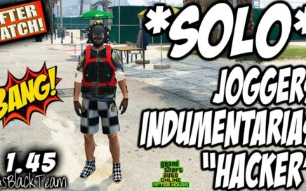 "*SOLO* - JOGGERS - PLACA I.A.A - INDUMENTARIAS ""HACKER"" - GTA V - MODO DIRECTOR - AFTER PATCH"