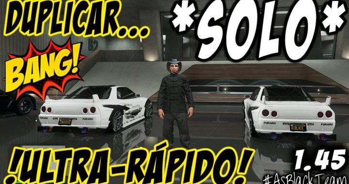 "SOLO MONEY GLITCH - DUPLICAR COCHES SIN AYUDA - GTA V - ""ULTRA-RÁPIDO"" - PARCHEADO"