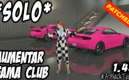 "*SOLO MONEY GLITCH* - ""PATCHED"" - GTA V - AUMENTAR FAMA CLUB - ""ROCKSTAR TE REGALA 1.000.000$"""