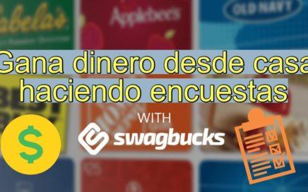 Swagbucks: Gana dinero extra viendo videos, encuestas