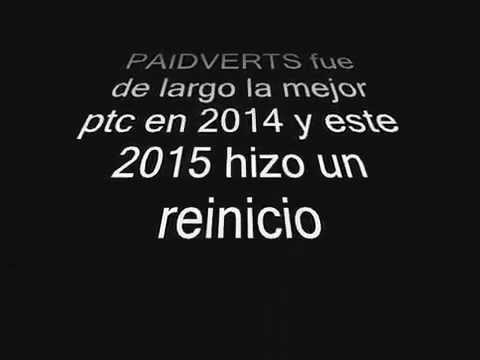 2015 Enero gana dinero en casa!! Paidverts mejor ptc!!!!