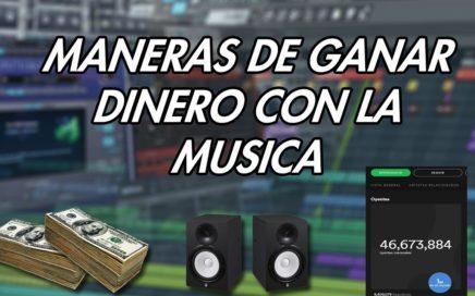 5 MANERAS DE GANAR DINERO CON LA MUSICA!!!