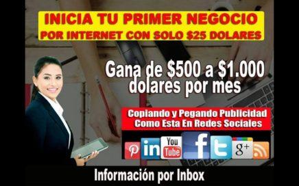 $500 dólares en 1 día con Hacia Arriba y mis Redes Sociales
