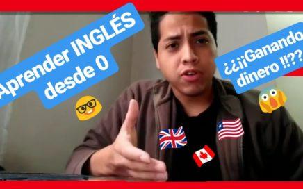 Como aprender INGLÉS desde CERO mientras ganas DINERO FÁCIL ( método definitivo )
