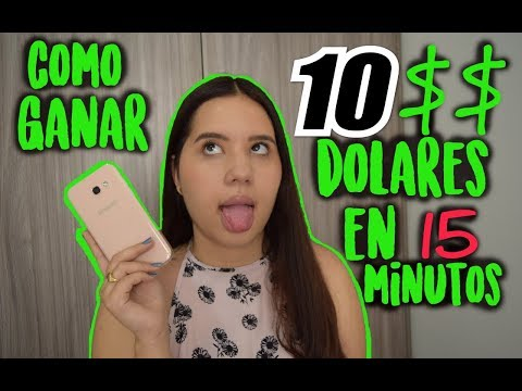 COMO GANAR 10 DOLARES EN 15 MINUTOS ¿ se puede ganar mucho DINERO en FOREX?