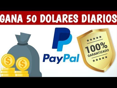 COMO GANAR 50 DOLARES DIARIOS PARA PAYPAL | SEPTIEMBRE 2018