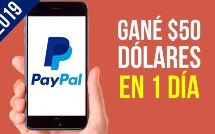 Como Ganar DIARIO Dinero Para PayPal | Gana Dinero con Paypal 2019