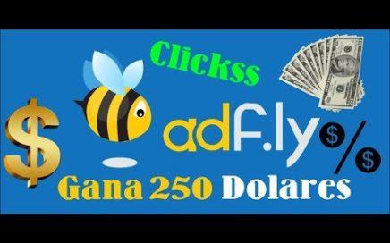 Como GANAR DINERO CON ADFLY   Ganar dinero por internet en PayPal con LINKS   $250