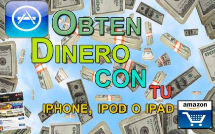 Como ganar dinero con el iphone, ipod o ipad GRATIS!! 100% legal