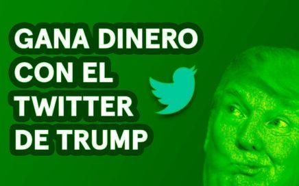 Cómo Ganar Dinero con el Twitter de Donald Trump