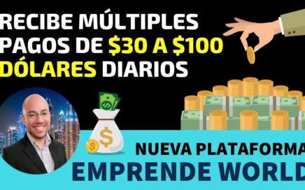 Como Ganar Dinero con Emprende World en Español Paso a Paso   Gana Dinero con Paypal 2018