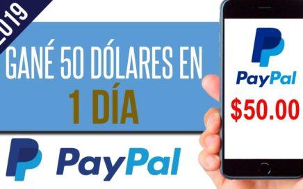 COMO GANAR MAS DE 20 DOLARES DIARIOS PARA PAYPAL | Prueba de PAGO ! Gana Dinero con Paypal 2019