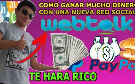 Cómo ganar Mucho dinero con una Nueva Red Social / Esto te Hara Rico 2018
