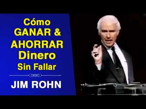 Cómo Ganar y Ahorrar Dinero Sin Fallar | Jim Rohn | Superación Personal