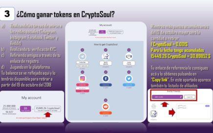 CryptoSoul PAGA 6$ POR REGISTRARTE  APURATE QUEDAN 8 DÍAS !!