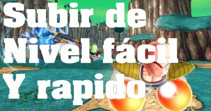 Dragon Ball Xenoverse - Truco: Como subir rápido de nivel y ganar dinero - Trucos