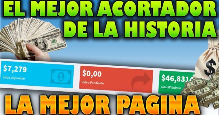 El mejor acortador de links que mejor paga para PayPal [MEJOR PAGINA] Comprobante de pago