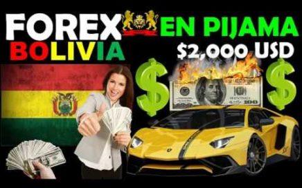 FOREX EN PIJAMA BOLIVIA - ganar dinero desde casa panama - forex bolivia - forexenpijama -  trading
