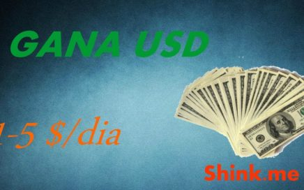 Gana de 1 a 5 dolares diarios en Venezuela| SHINK.ME