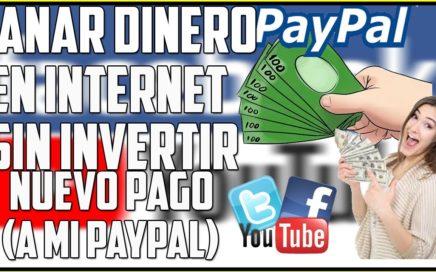 Gana dinero en internet - Bono de Registro $1,00 - Nueva Página [ Nuevo Pago]