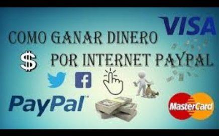 GANA HASTA MAS DE $20 DOLARES POR INTERNET EN UNA SEMANA FACIL Y MUY RAPIDO 2018