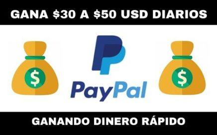 Ganar Dinero DIARIO Para Paypal | Ganar Dinero Con Paypal 2019