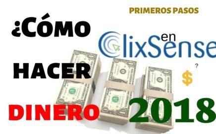 Ganar DINERO en CLIXSENSE 2018 actualizado